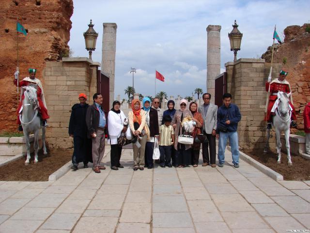 Gerbang Mausoleum Muhammad V